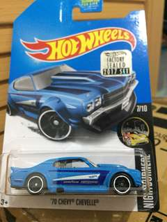 HOTWHEELS FACTORY SEALED 2017 CHEVY CHEVELLE