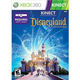 [BN] Xbox 360 Kinect Disneyland Adventures (Brand New & Sealed)