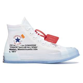 """US13"" OFF-WHITE x Converse Chuck Taylor"