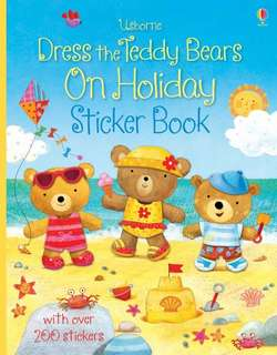 BN Usborne dress the teddy bears on holiday