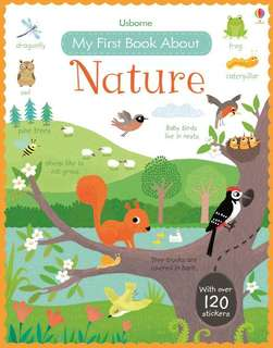 BN Usborne my first book about Nature