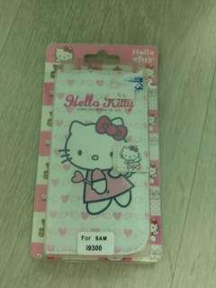Hello Kitty Samsung Galaxy S3 Flip Case card slot cute cover