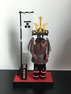 Samurai warrior figurine