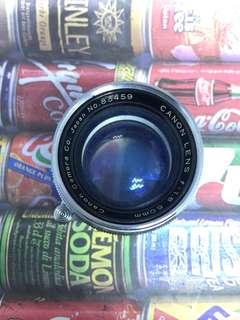 canon ltm 50 mm f1.8
