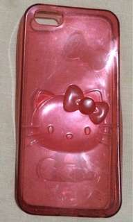 Hello Kitty Silicon Rubber Case for Iphone5/5s