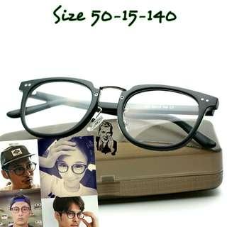 Kacamata Korea 636 Frame Kacamata Vintage Kacamata Fashion