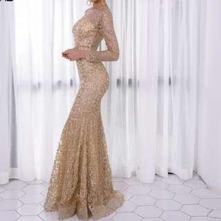 (PO)Sequin Dress