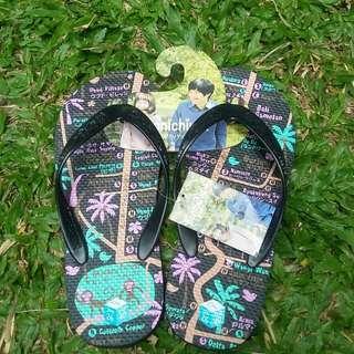 NEW Konnichiwa Sandal Jepit ORI