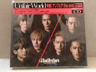 Unfair World Sandaime J Soul Brothers  (JSB) from EXILE TRIBE