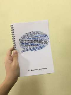 MJC Econs notebook