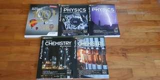 Physics and Chemistry Guidebooks and Assessment books (O Level)