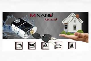 MINANO Security Alarm Lock 120dba