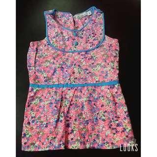 preloved floral dress 18-24months