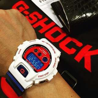 RARE🌟SEEN GSHOCK CASIO DIVER WATCH : 1-YEAR OFFICIAL WARRANTY : 100% Originally Authentic G-SHOCK Resistant THEME OF AVENGERS in ABSOLUTELY TOUGHNESS & Best For Most Rough Users & Unisex: GD-X6900CS-7DR / GDX-6900 / DW-6900 / DW6900 / GDX6900