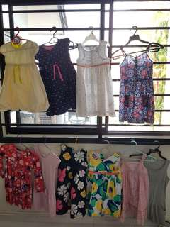 Old Navy and Gap Assorted Dresses 5T