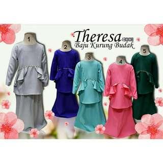 Baju Kurung Theresa (2y-15y)