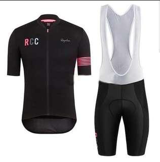 Rapha jersey (L), bibs (XL) - replica