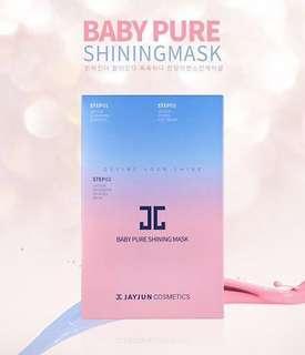 Jayjun Baby Pure Shining Mask 25ml 10pcs  #rayaletgo