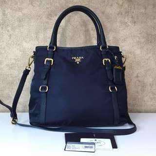 PRADA BR4993 TESSUTO NYLON SHOULDER BAG