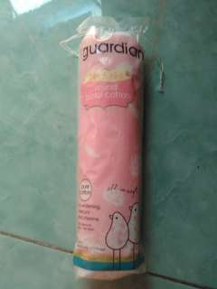GUARDIAN ROUND FACIAL COTTON KAPAS WAJAH