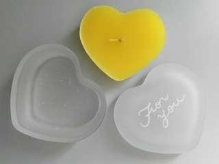 [New] Heart Shaped Glass Candle Box 心心玻璃蠟燭盒