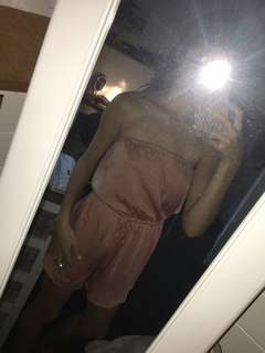 Silky glassons playsuit