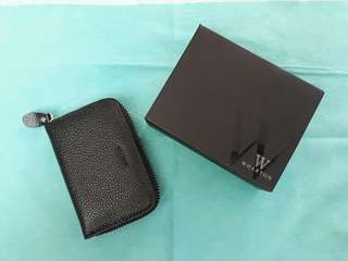 Wharton leather card holder