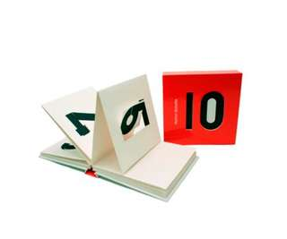 Numbers pop-up book