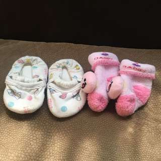 Infant's shoes with free socks FREE SF within metro manila