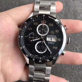 TAG Heuer Carrera Black Dial Swiss 1887