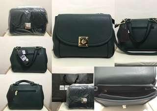 SALE!!! Branded Green Sling Bag / Satchel