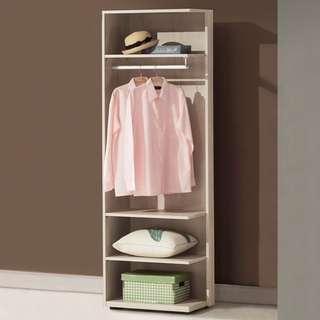 佳莉2尺開放式衣櫃