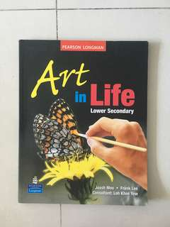 lower sec art textbooks