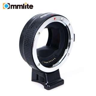 Commlite EF to Sony E Mount Lens Converter
