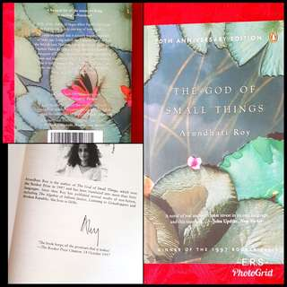 The God of Small Things (20th Anniversary Edition ) Signed Copy