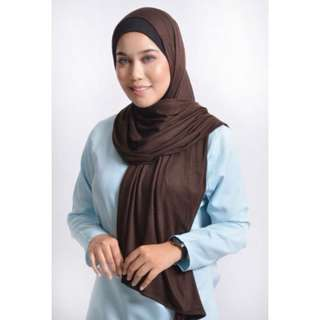 Long Shawl Toffe Brown