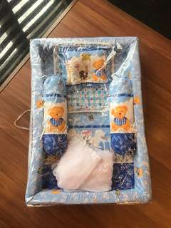 Bed, Bedcover Baby (set kasur bayi, bantal, guling)
