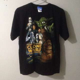 2003 Star Wars Clone Wars T Shirt REPRICED