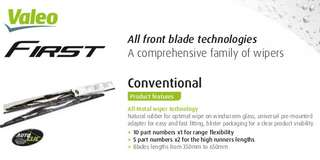 Valet First Conventional wiper blades