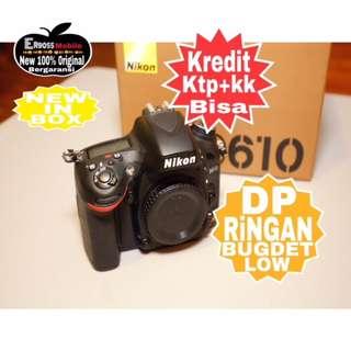 Cicilan Ringan Nikon D610 Body (body Only) ditoko call/sms Ready Wa;081905288895