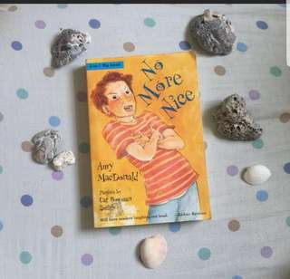 No more nice, no more nasty by Amy Mc Donald