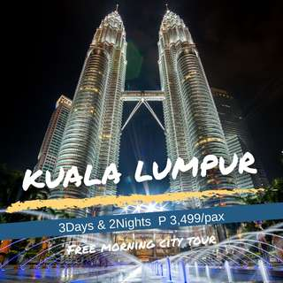 3D2N Kuala Lumpur