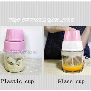 Multi-functional baby feeding machine - household blenders electric food mixer - Glass cup
