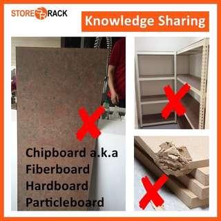 Knowledge Sharing For Boltless Rack