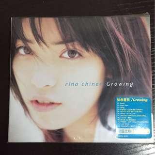 知念理奈 Growing 初回日版CD