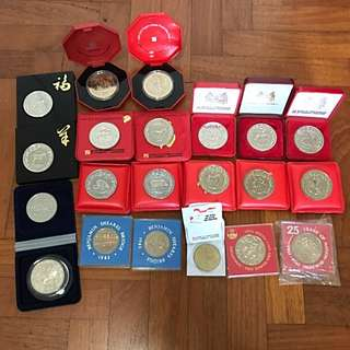 Bulk Of Commemorative Coins