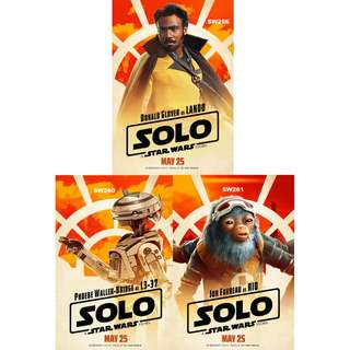 SOLO: A STAR WARS STORY MOVIE POSTERS (PART 3)