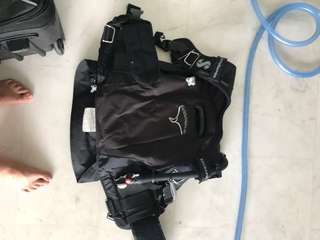 Full diving equipment scubapro
