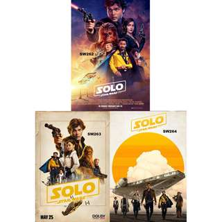 SOLO: A STAR WARS STORY MOVIE POSTERS (PART 4)