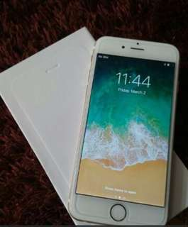 IPHONE 6PLUS SILVER 64GB SECOND HAND